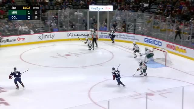 Watch and share Colorado Avalanche GIFs and Minnesota Wild GIFs by Beep Boop on Gfycat