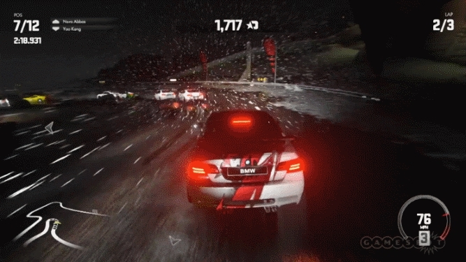 DriveClub Gameplay, not CGI GIFs