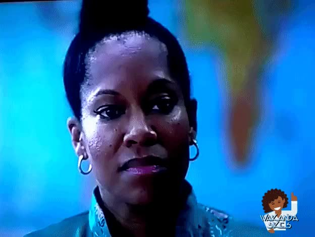 Watch and share Wakanda Sikes GIFs and Regina King GIFs by Petty Parker on Gfycat