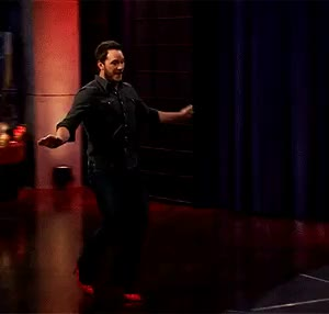 Watch this chris pratt GIF on Gfycat. Discover more Chris Pratt, James Corden, Jurassic World, The Late Late Show, chris pratt, james corden, jurassic park, jurassic world, the late late show GIFs on Gfycat