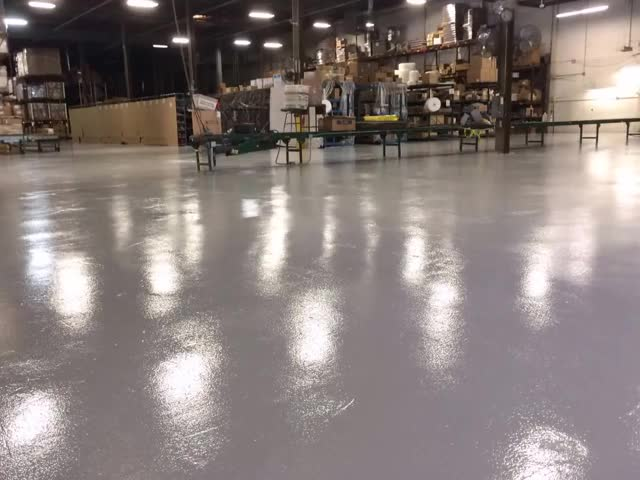 Watch and share Industrial Warehouse Epoxy Floor Coating GIFs by xtap100 on Gfycat