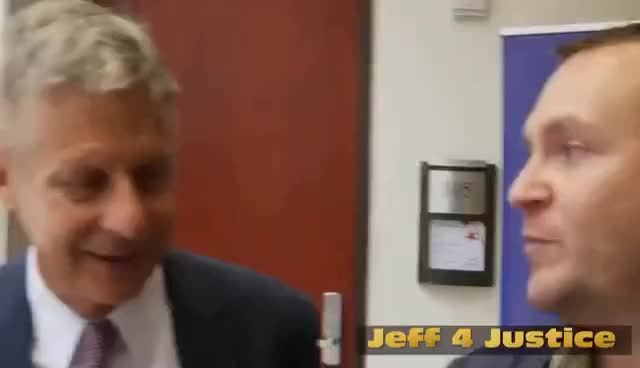 Watch and share Gary Johnson On His Contradicting, Clinton Cheering VP Choice GIFs on Gfycat