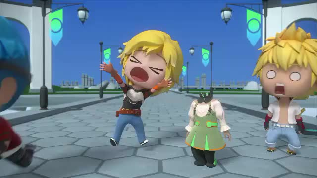 Watch and share Rwby Chibi GIFs by F1T13 on Gfycat