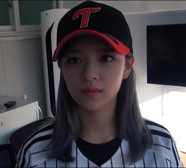Watch and share Jeongyeon GIFs and Baseball GIFs by twgif on Gfycat