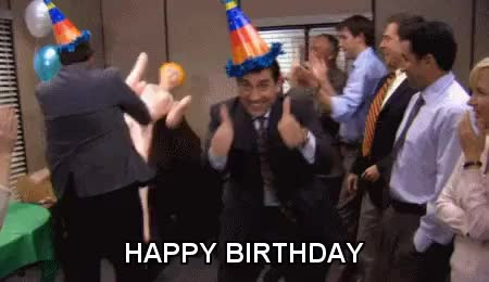 Watch and share Happy Birthday GIFs by Reactions on Gfycat