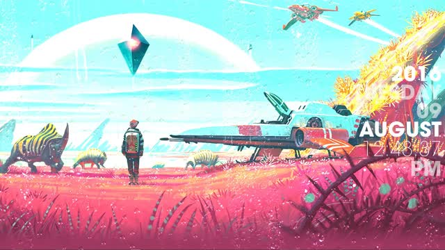 Watch and share No Mans Sky GIFs and Rainmeter GIFs by Successfully Yote on Gfycat