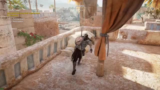 Watch and share Assassin's Creed Origins 12.01.2017 - 21.29.09.02.DVR GIFs on Gfycat