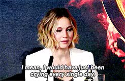 Watch and share Jennifer Lawrence GIFs and Interview GIFs on Gfycat