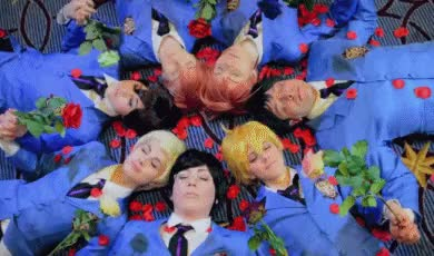 Watch *: KISS KISS FALL IN LOVE  :*Ouran High School Host Club; Ka GIF on Gfycat. Discover more BeaUTIFUL SHOT OF OUR OURAN GROUP UGH, KATSU, KATSUCON, honey cosplay, katsucon 2015, kyoya cosplay, mycosplay, ohshc, ohshc cosplay, ouran highschool host club, tamaki suoh GIFs on Gfycat