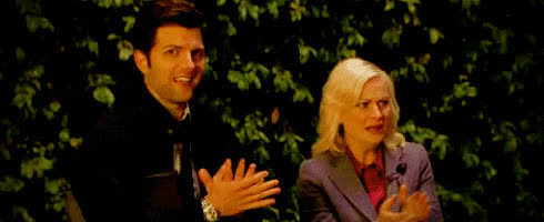 awkward, ben wyatt, disgust, leslie knope, parks and rec, wtf, Parks And Rec Awkward GIFs
