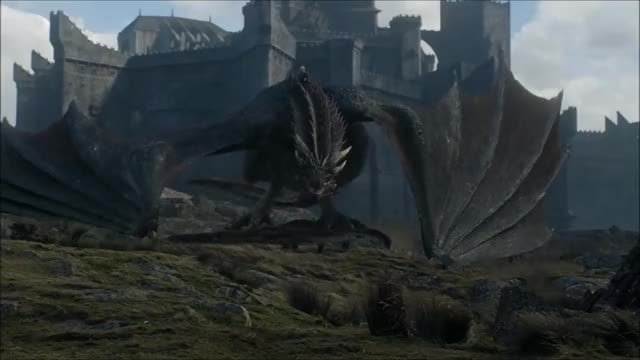 Watch Jon meets Drogon GIF on Gfycat. Discover more related GIFs on Gfycat