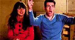 Watch and share Jess X Schmidt GIFs and Jessica Day GIFs on Gfycat