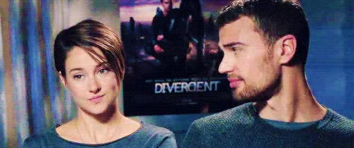 Watch and share My Otp Is Perfect GIFs and Shailene Woodley GIFs on Gfycat