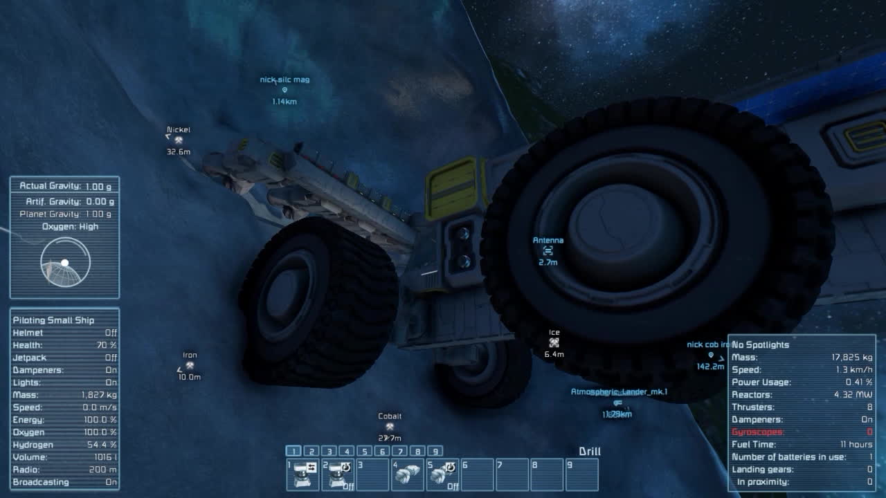 spaceengineers, When I just want some iron but clang says no. GIFs