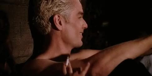 Watch and share William The Bloody GIFs and James Marsters GIFs on Gfycat