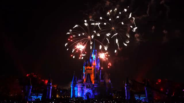 Watch HAPPILY EVER AFTER Magic Kingdom Fireworks 4K Full Show + Outro | Walt Disney World GIF on Gfycat. Discover more related GIFs on Gfycat