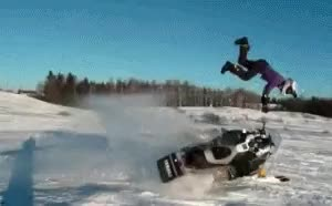 Watch and share Snowmobile GIFs on Gfycat