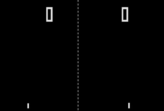Watch and share Arcade Game: Pong (1972 Atari) [Re-Uploaded] GIFs on Gfycat