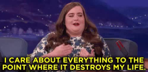 Watch and share Aidy Bryant GIFs and Conan GIFs by Sevigor on Gfycat