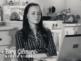 Watch and share Alexis Bledel GIFs and Gilmore Girls GIFs on Gfycat