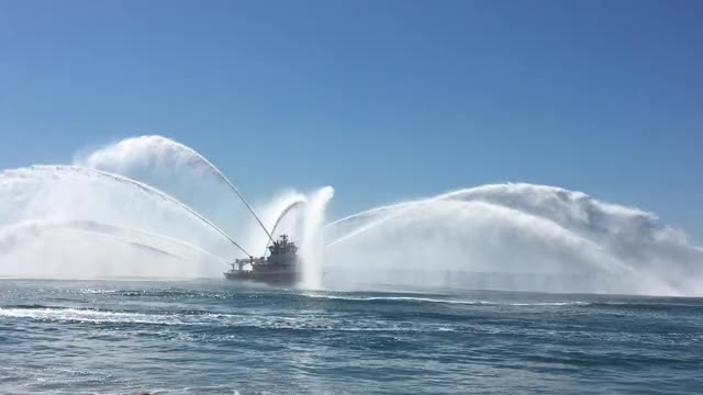 Watch and share Fire Boat GIFs on Gfycat