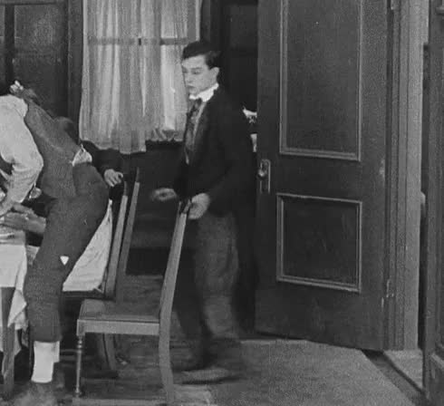 Watch and share Buster Keaton Animated GIF GIFs on Gfycat