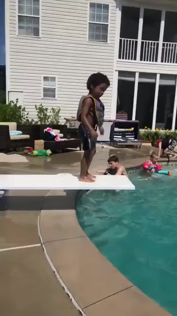 Watch and share Diving Board GIFs and Tim Toaster GIFs on Gfycat