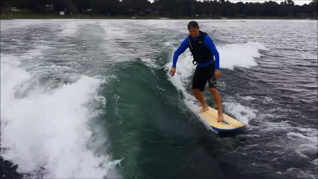Watch and share Wake Surfing Sep 2015 GIFs on Gfycat
