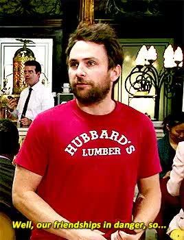 Watch When You Were My Age You Had Edges GIF on Gfycat. Discover more Charlie Day, Charlie Kelly, Dennis Reynolds, Glenn Howerton, Mac McDonald, Rob McElhenney, gifset:iasip, iasip, iasipedit, its always sunny, its always sunny in philadelphia GIFs on Gfycat
