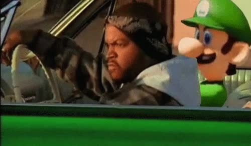 Watch Luigi saca su lado diabolico en Mario Kart 8 6 GIF on Gfycat. Discover more related GIFs on Gfycat