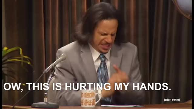 Watch This is hurting my hands GIF on Gfycat. Discover more adult swim, clap, clapping, eric andre GIFs on Gfycat