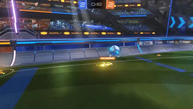 Watch Best goal I will ever score GIF by @sakeville on Gfycat. Discover more goal, replay, rocket league, rocketleague GIFs on Gfycat