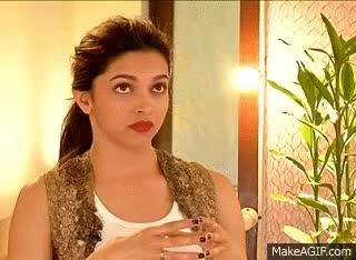 Watch Rajeev Masand interview with Deepika Padukone GIF on Gfycat. Discover more deepika padukone GIFs on Gfycat