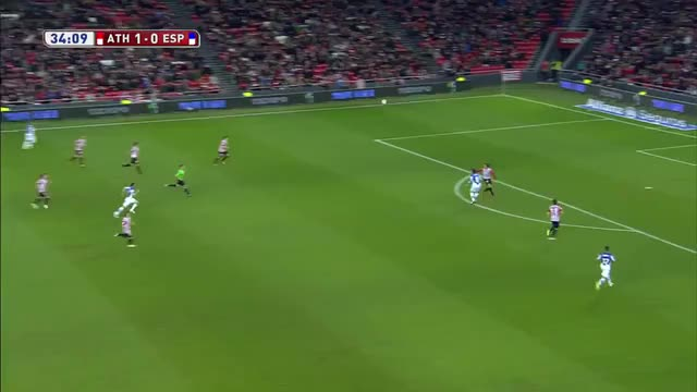 Watch and share Victor Sanchez's Fantastic Half Volley Vs Athletic Bilbao GIFs by anasie10 on Gfycat