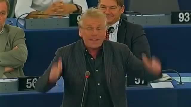 daniel cohn-bendit, interventions, parlement europeen, Les interventions marquantes de Daniel Cohn-Bendit GIFs
