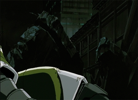 animegifs, Robo Punch! [Giant Robo: The Animation] (reddit) GIFs