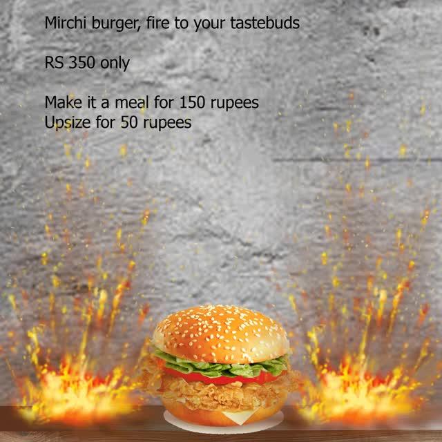 Watch and share Mirchi-burger-gif GIFs on Gfycat