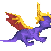 spyro animated run fast GIFs