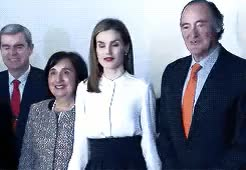Watch and share Queen Letizia GIFs and Reina Letizia GIFs on Gfycat