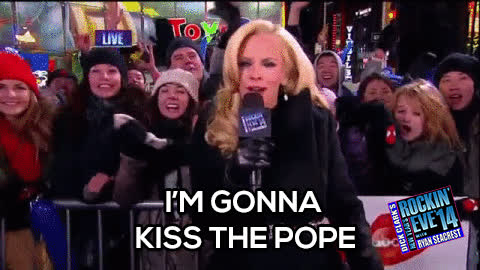 jenny mccarthy, Jenny confessed her desires for the pope GIFs