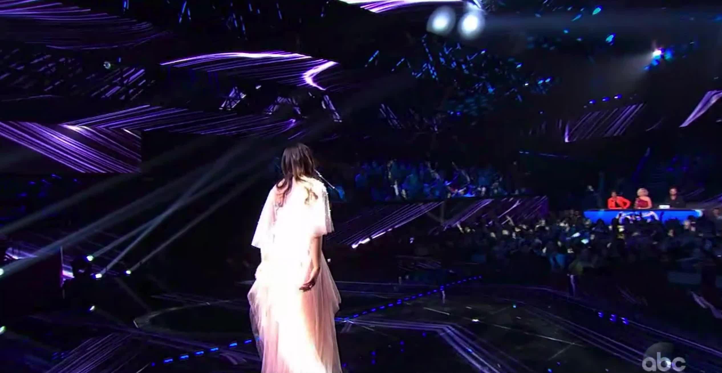 alyssa raghu, american idol, american idol season 17, americanidol, katy perry, lionel richie, luke bryan, ryan seacrest, season 17, singing, American Idol Alyssa Performing GIFs