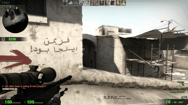counterstrike, Wallbang HeadShot With AWP on CS:GO GIFs