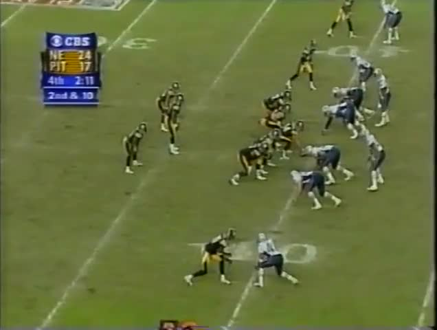 Watch 2001 AFC Championship Game: Patriots @ Steelers GIF by @casimir_iii on Gfycat. Discover more related GIFs on Gfycat