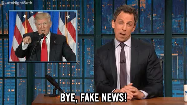 Watch and share Late Night With Seth Meyers GIFs and Fake News GIFs on Gfycat