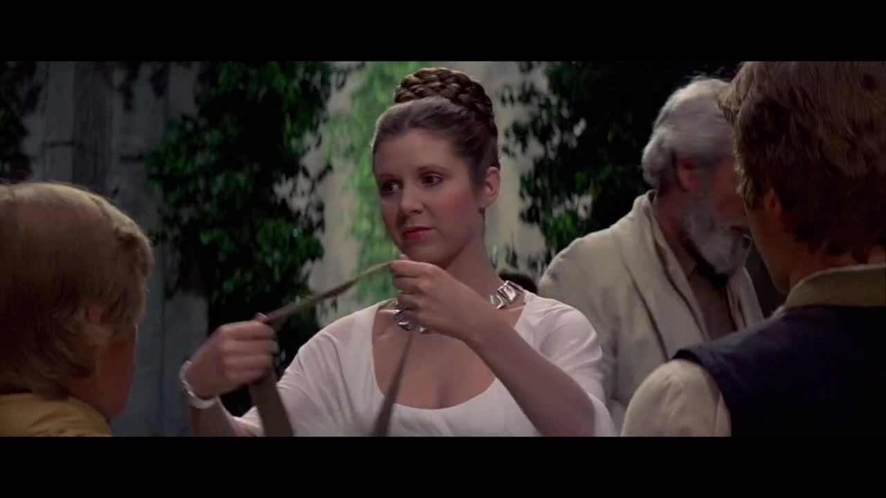 AskScienceFiction, Carrie Fisher, asksciencefiction, Carrie Fisher: Looking over the horizon in the gold bikini, circa 1983 (reddit) GIFs