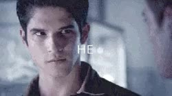 """Watch """"He looks so young""""""""He is. He's only fifteen"""" GIF on Gfycat. Discover more Tyler Posey, dunbar, liam dunbar, pics, sciam, teen wolf, tw GIFs on Gfycat"""