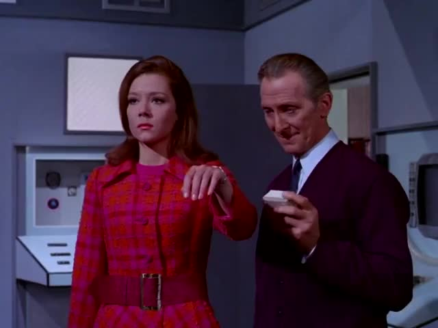 Watch and share Peter Cushing GIFs and Diana Rigg GIFs on Gfycat