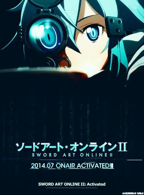 Watch and share Sword Art Online 2 GIFs and Anime Wallpaper GIFs on Gfycat