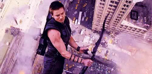 Watch and share Hawkeye GIFs on Gfycat