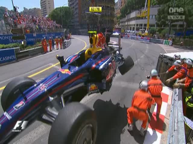 Watch Monaco09 Vettel Crashes Out GIF on Gfycat. Discover more related GIFs on Gfycat